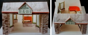 Concept model for the Royal Welsh Stand